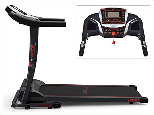FIT-FORCE Cinta Correr Plegable 1600W Velocidad