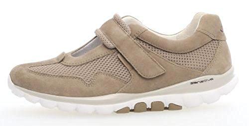 Gabor Shoes Rollingsoft, Derbys Femme Marron (Visone)