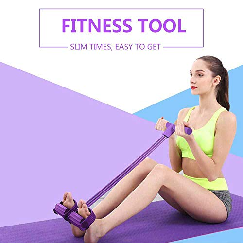 Aprillia Incorp Pull Reducer, Waist Reducer Body Shaper Trimmer for Reducing Your Waistline and Burn Off Extra Calories, Arm Exercise, Tummy Fat Burner, Body Building Training, Toning Tube (Multi Color)