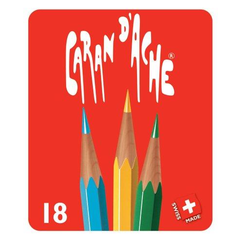 18 set di colori Caran d'Ache matita