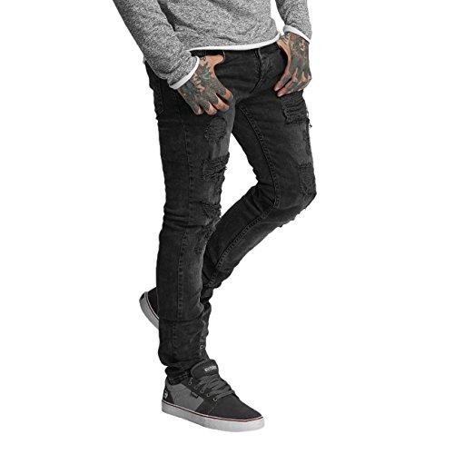 VSCT Clubwear Herren Jeans / Skinny Jeans Keno Heavy Destroyed (Skinny Heavy Jean Destroyed)