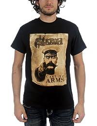 Saxon - L'appel des hommes de T-shirt de bras en noir -