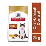 Hill's Science Diet Adult Hairball Control, Chicken Recipe Dry Cat Food, 2 kg
