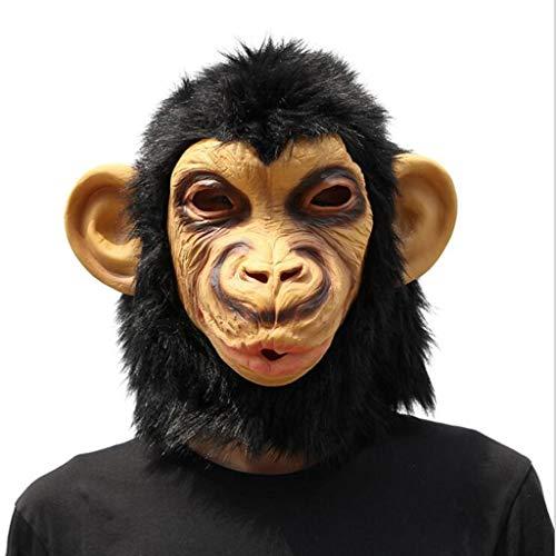 DLDL Halloween Maske Weihnachten Orang-Utan Styling Maske Party Maske Latex Maskerade Maske