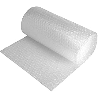 Jiffy Bubble Film Protective Packaging 5mm Bubbles Roll 750mmx75m (Clear)