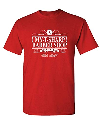 My-T-Sharp Barber Shop - Movie Novelty - Mens Cotton T-Shirt S