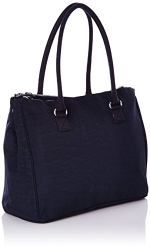 Kipling Damen Halia True Blue Schultertaschen, 37x29x14 cm Blau (True Blue 511)