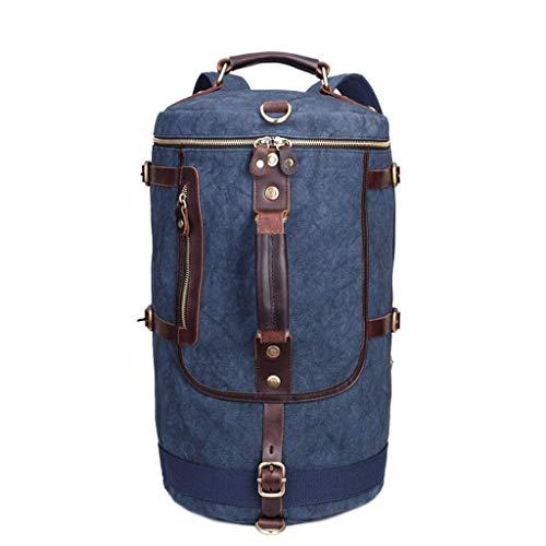 HYCy Rucksack Reise Trekking Wandern Camping Bergsteigen Handbags Tagesrucksack Zum Mauml;nner Frau, Draussen Sport Schultertasche (Farbe : Blau, grouml;szlig;e : 27CW*47CM)