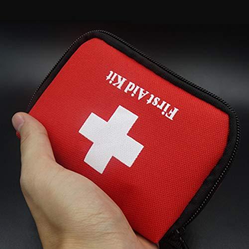 Bolsa de botiquín de Primeros Auxilios de Emergencia de Supervivencia Bolsa Familia Mini portátil Sport Kits de Viaje Casa de Salud de la Bolsa al Aire Libre Bolsa para rescates