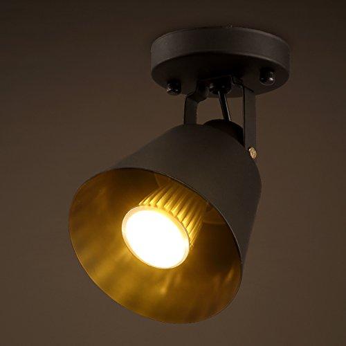 Kreative Retro-Kleidung zu speichern Spotlight einfache und kreative Restaurant Beleuchtung-B (Weiß-schwarz-kleidung Zu Speichern)