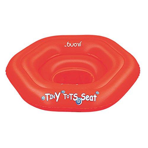 Jilong Baby Plus 74x70 cm Schwimmhilfe Schwimmsitz Babysitz Schwimmring Babysicherheitsring Sitzring Schwimmhilfe nach EN13138 mit 3 Luftkammern max 15kg