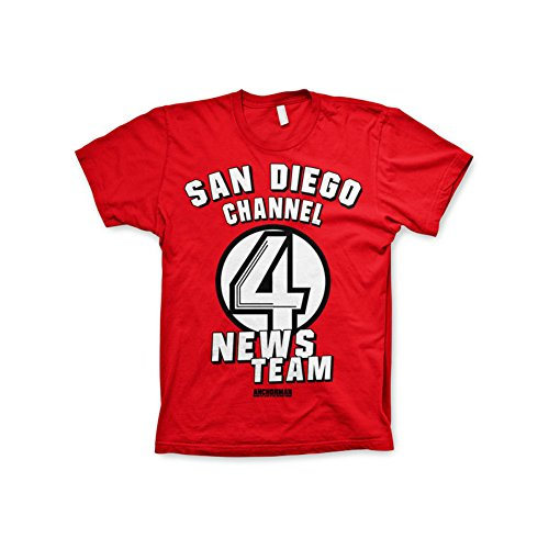 officially-licensed-merchandise-anchorman-san-diego-channel-4-t-shirt-red-xx-large