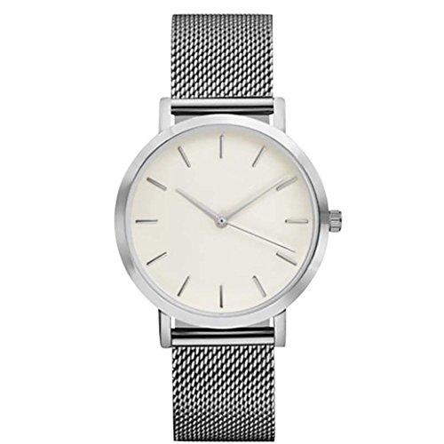 Sunnywill Frauen Mädchen Damen Schöne Mode Kristall Edelstahl Analoge Quarz Armbanduhr Uhr für Weibliche Studenten