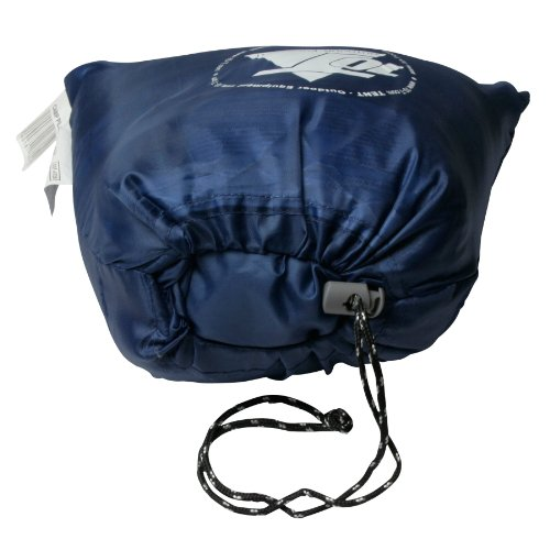 10T Camp Pillow 40x25cm Reisekissen Campingkissen Kopfkissen Schlaf-Kissen Sitzkissen mit integriertem Packbeutel zum umstülpen - 6