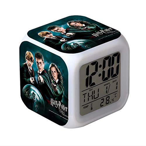 Reloj Despertador Harry Potter