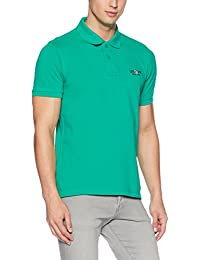 US Polo Association Men's Solid Regular Fit Cotton Polo