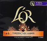 L'Or Café Moulu Torréfaction Ambrée Intensité 7 - 1,5 kg - 3 Lots de 2x250 g