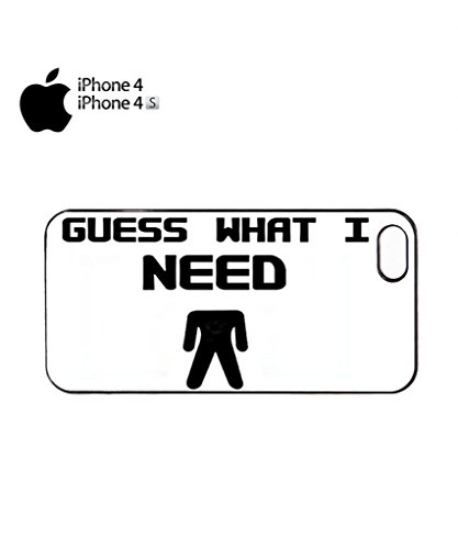 Guess What I Need Rude Mobile Cell Phone Case Cover iPhone 5c Black Noir
