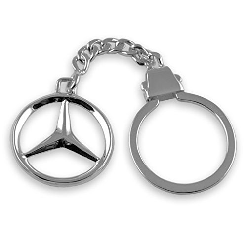 Select Gifts Sterling silber Mercedes Schlüsselanhänger (Schlüsselanhänger Sterling)