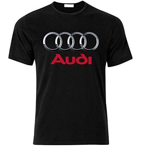 AUDI sport S LINE QUATTRO TT S3 S4 S5 S6 S8 RS R8 RS6 RS4 Fan T Shirt T-SHIRT Schwarz