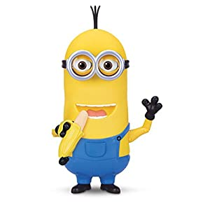 Minions Movie Talking Figure Kevin With Banana