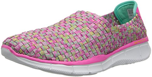 Skechers Equalizer vivid Dream, Chaussons Sneaker Femme Rose (Pkmt)