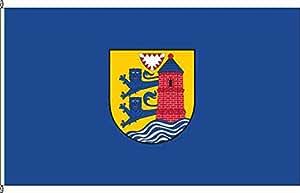 Kleinfahne Flensburg - 20 x 30cm - Flagge und Fahne