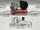 Coppia Trombe Clacson Fiamm AM80SX Universali 12V Auto Moto Camion Furgone