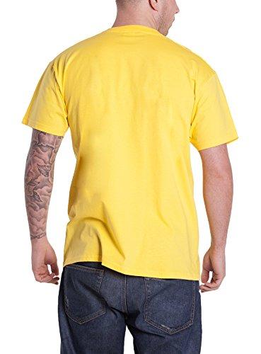 Plastic Head Herren T-Shirt  Gelb Jaune - Jaune