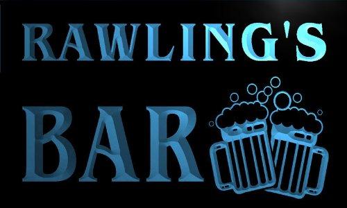 w048178-b-rawling-name-home-bar-pub-beer-mugs-cheers-neon-light-sign-barlicht-neonlicht-lichtwerbung