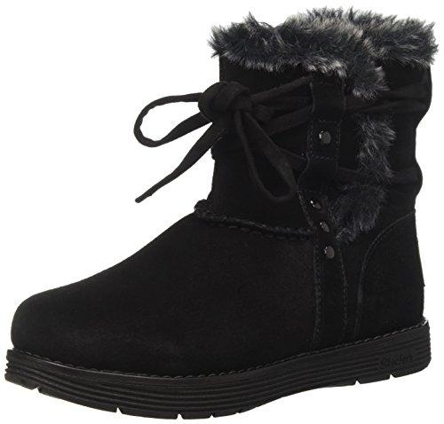 Skechers Damen Adorbs-Plushy Stiefel, Schwarz (Black), 41 EU (Stiefel Skechers Fashion)