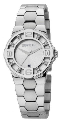 Breil TW0758 - Orologio da polso da donna, cinturino in acciaio inox