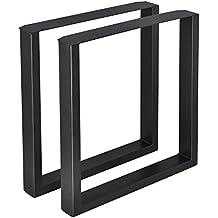Amazonfr Pied De Table Metal