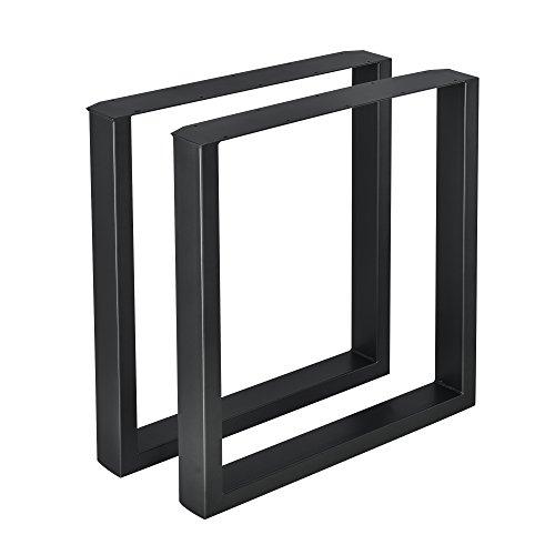 Set de 2x patas de mesaEste set de patas de mesa [en.casa] de metal resistente, está diseñado según las nuevas tendencias, es fácil de limpiar además personaliza el interior de su hogar. Detalles del producto:  - Conjunto de 2 patas de mesa - Durader...