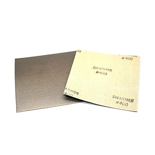 [Insung Diamant] Diamant Flexible Schleifpapier Tabelle alle Typ 400Körnung (100mm x 100mm)