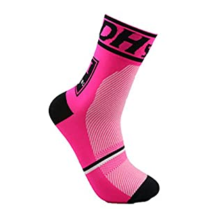 Profesional Calcetines Ciclismo Transpirable Que Absorbe Deporte Bicicletas Calcetines Hombre Mujer (4)