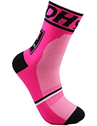Largeshop Profesional Calcetines Ciclismo Transpirable Que Absorbe Deporte Bicicletas Calcetines Hombre Mujer (4)