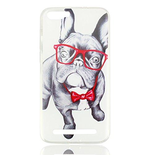 Easbuy Handy Hülle Soft Silikon Case Etui Tasche für DOOGEE X30 X 30 Smartphone Cover Handytasche Handyhülle Schutzhülle