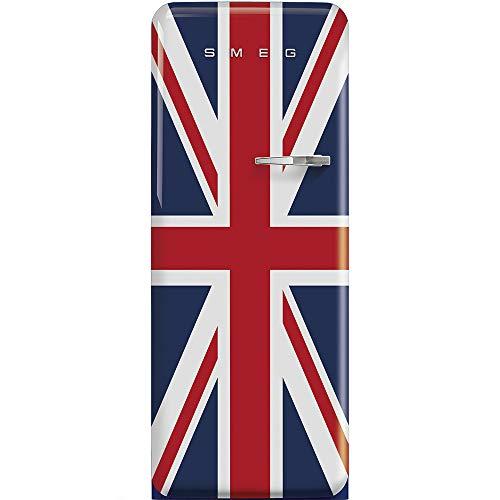 Smeg FAB28LDUJ3 frigo combine Autonome Bleu, Rouge, Blanc 270 L A+++ - Frigos combinés (Autonome, Bleu, Rouge, Blanc, Gauche, 110°, Verre, 270 L)
