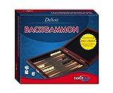 Noris Spiele 606108004 - Backgammon Deluxe, Versione da Viaggio [Lingua Tedesca]