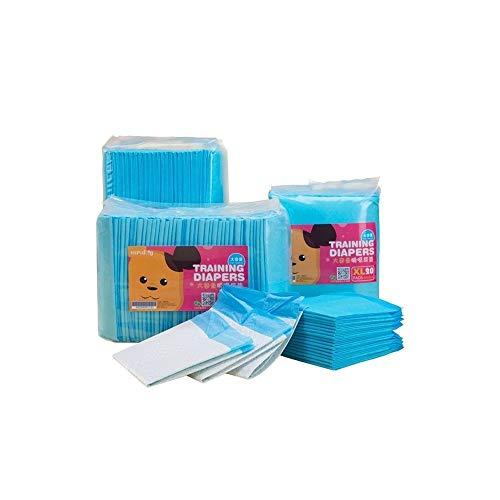 Chenjinxiang01 Hundewindeln, geeignet für Haustiereinlagen, saugfähige Pads für Plüschwindeln, Verdickungsmittel und Deodorant, 100 Stück