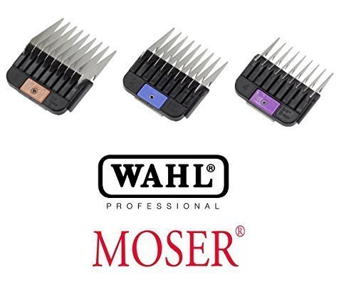 Samsebaer Edition: Wahl/Moser 3x metallo Aufst eckka mmset per max 45+ 50Tosatrice. 64771