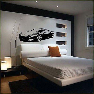xl-grand-voiture-ferrari-458-super-chambre-sans-raclette-art-mural-en-vinyle-noir-black-xtra-large-1