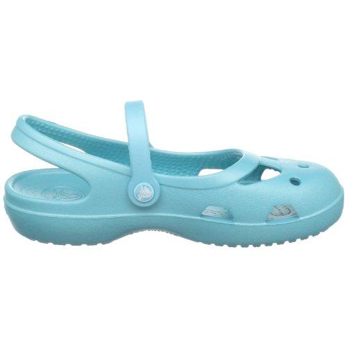 Crocs Shayna, Ballerines fille Bleu (Aqua)