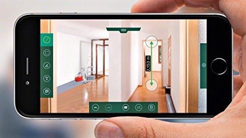 Laser Entfernungsmesser Dauermessung : Bosch lasermessgerät plr c laser entfernungsmesser
