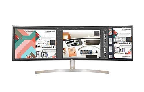 "LG 49WL95C-W LED Display 124,5 cm (49"") UltraWide Dual Quad HD Incurvé Blanc - Écrans Plats de PC (124,5 cm (49""), 5120 x 1440 Pixels, UltraWide Dual Quad HD, LED, 5 ms, Blanc)"