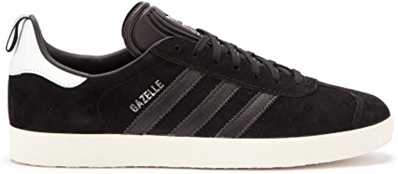 m. / mme adidas gazelle   formateurs facile Noir  facile formateurs à nettoyer la surface arrêtés sont les bienvenus superbe facture a2da52