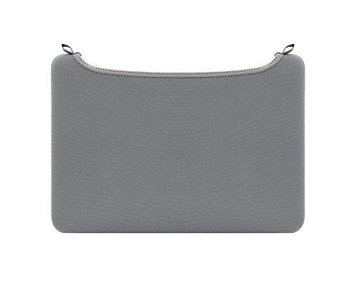 Matériel de plongée Housse PC Portable Sac Pochette Ordinateur Portable Pas de fermeture éclair Cas pour MacBook Gris 15Inch