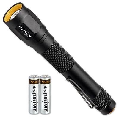de.power LED Taschenlampe 2xAA LR6, 263 Lumen (ANSI) DP-014AA-C von de.power bei Outdoor Shop