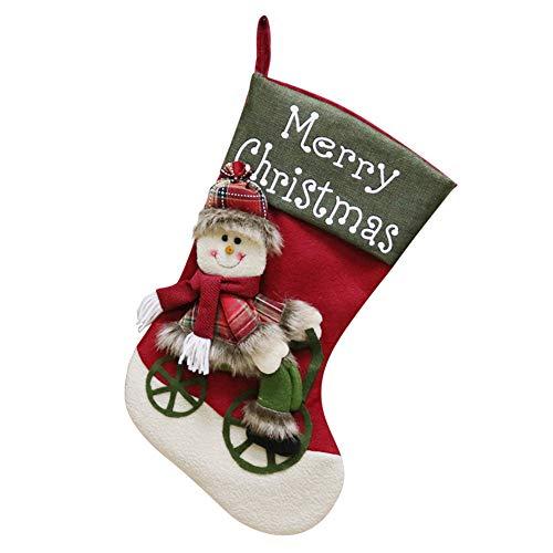 Wyxhkj merry christmas stockings, decorazione natalizia, pendant, calze di natale, sacchetti di caramelle